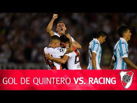 Gol de Juan Quintero vs. Racing