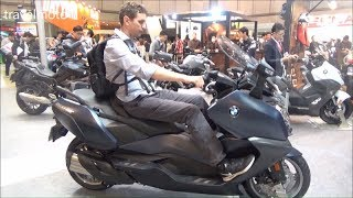 10. The 2018 BMW C 650 GT scooter - tall rider 190cm 6,2ft