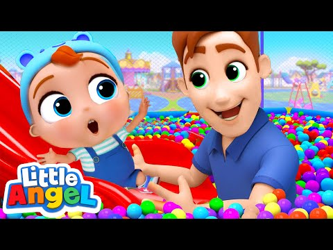 Playtime at the Playground | Playground Song +More Nursery Rhymes by Little Angel
