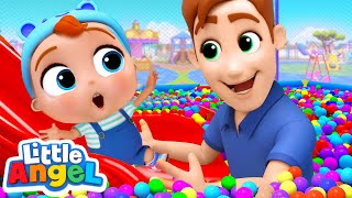 Video Playtime at the Playground | Playground Song +More Nursery Rhymes by Little Angel MP3, 3GP, MP4, WEBM, AVI, FLV Januari 2019