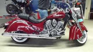 10. 2014 Indian Chief Classic Exhaust SOUND 92 Hp 183 Km/h 113 mph * see also Playlist