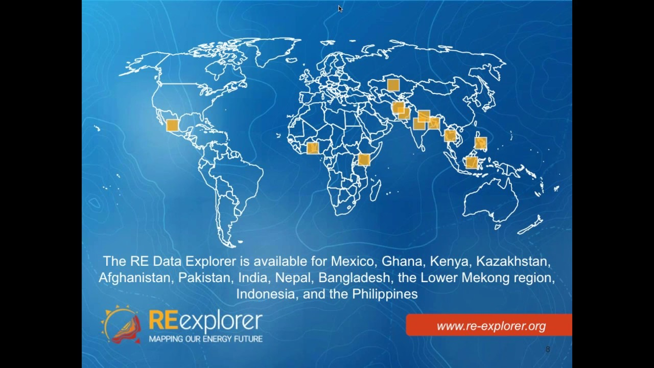 Launching the Renewable Energy Data Explorer: Data and Analysis to Enable Renewable Energy Decisions