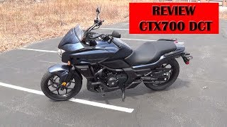 3. Honda CTX700 DCT review and testdrive for dummies