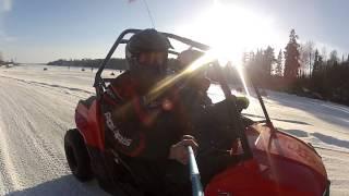 8. Polaris RZR 170 Drifting fun !