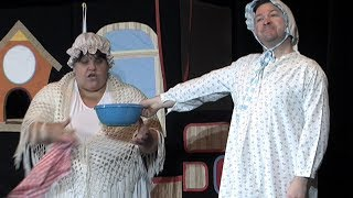 Divadlo Kapsa zahrálo pohádku pro děti