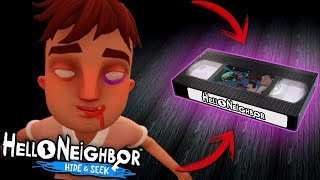 EL NUEVO VIDEO SECRETO QUE NO VISTE DE HELLO NEIGHBOR HIDE AND SEEK