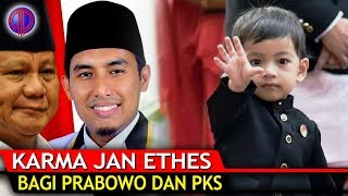 Video K4rma Cucu Jokowi Jan Ethes bagi Prabowo dan PKS MP3, 3GP, MP4, WEBM, AVI, FLV Januari 2019