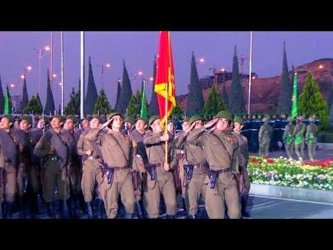 Впервые военный парад в честь Дня Победы прошел в Туркменистане