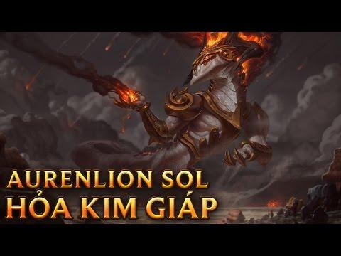 Aurelion Sol Hỏa Kim Giáp - Aurelion Sol Lãnh Chúa Tro Tàn