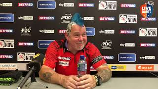 """Dimitri van den Bergh on Matchplay win over Price: """"Stop talking, show it. My darts do the talking"""""""