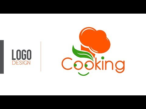 Cooking Logo Design | Train Your Brain | Adobe Illustrator