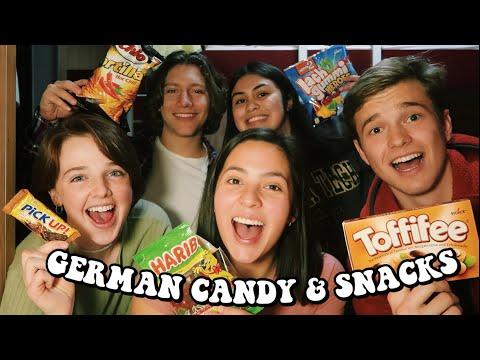 American Teens Try German Candy & Snacks