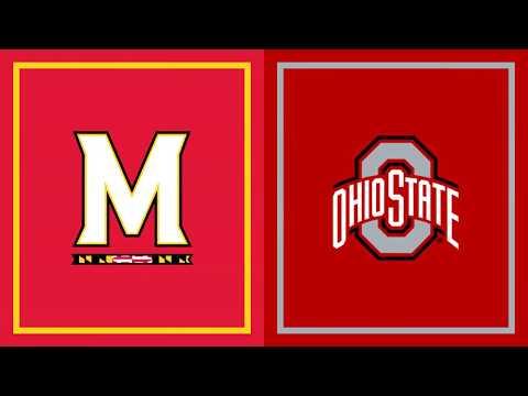 First Half Highlights: Maryland at Ohio State | B1G Football