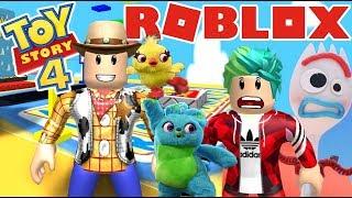 Aventuras con Toy Story 4 | Escape de Toy Story | Juegos Roblox Karim Juega