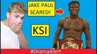 Jake Paul SCARED of KSI! Logan Paul too #DramaAlert Deji calls out Jake Paul!