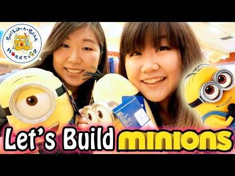 Let's Build Build-A-Bear Minions!! with Jenny!! - Jenny's First  BAB Workshop Experience!