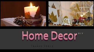 In this video I wanted to show how easy it is to make your home more comfy without spending a dime. I used leaves in different ways. And don't forget that glitter makes everything better. Share the love XOXO--------------------------------------------------------------------------Lets be friends Twitter -  https://twitter.com/taurusforce27Facebook -  https://www.facebook.com/taurusforce27/Instagram -  https://www.instagram.com/itsmekatia/-------------------------------------------------------------------------------------The cool music provided by NCS - Disfigure - Hollah! [NCS Release] Go and listen to it https://www.youtube.com/watch?v=m0ZXoiIZ40USupport this amazing team Disfigure➞ Facebook https://www.facebook.com/disfigureoff...➞ SoundCloud https://soundcloud.com/disfigureofficial➞ Twitter https://twitter.com/disfiguremusic