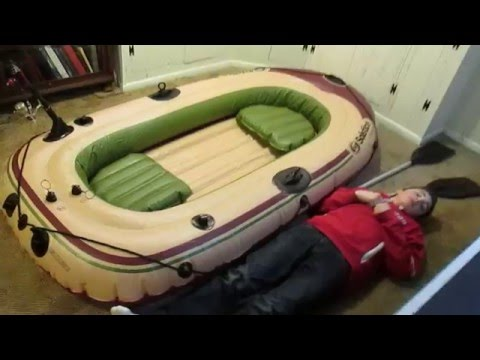 solstice voyager 4 person raft review