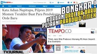 Video Bang Adian BONGKAR ! KORB(a)N Orde Baru Pujaan Prabowo-Titiek ? Wadaw ... MP3, 3GP, MP4, WEBM, AVI, FLV Desember 2018