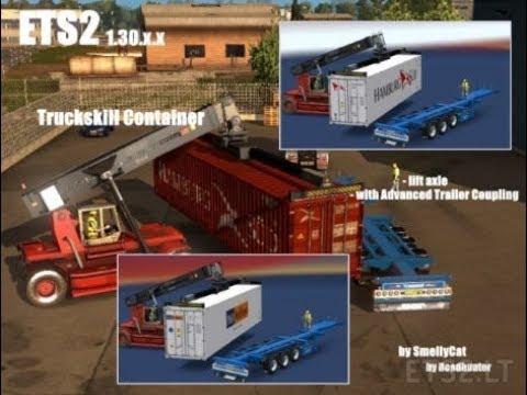 Scania Truckskill Trailer Reworked 1.30.x