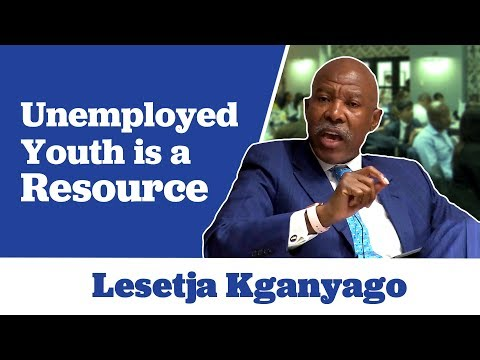 Lesetja Kganyago on Unemployed Youth Being a Resource