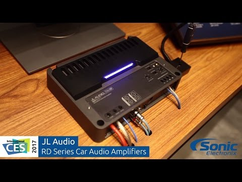 JL Audio RD Series Car Amplifiers | Clipping LED Demonstration | CES 2017