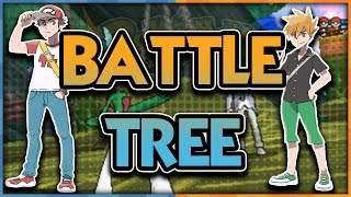 RED, BLUE, CYNTHIA, WALLY and MORE CONFIRMED! Pokemon Sun and Moon Battle Tree News! by aDrive