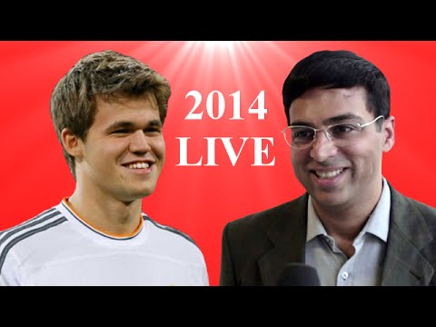 World Chess Championship 2014 Live – Magnus Carlsen vs Viswanathan Anand