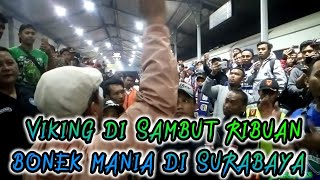 Video Detik - Detik Kereta Rombongan Suporter Persib VIKING Tiba Di Stasiun Gubeng Surabaya,25 07 2018 MP3, 3GP, MP4, WEBM, AVI, FLV September 2018