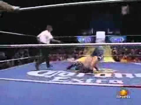 0 Footage of Sin Cara Wrestling in Mexico