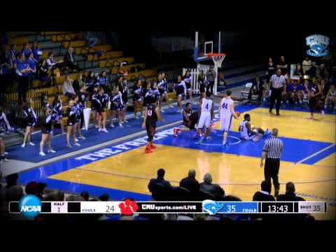 MBB: CNU vs Frostburg State Highlights