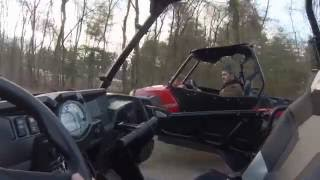 10. 2015 rzr 900S vs 2014 rzr xp900 race