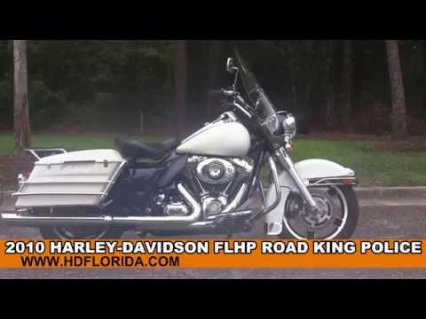 Used 2010 Harley Davidson Road King Police for sale in Lake Placid