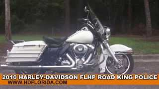 6. Used 2010 Harley Davidson Road King Police for sale in Lake Placid
