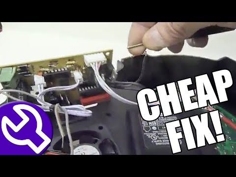 How to fix a broken LED SlimPar 64 (Simple Power Supply Repair)