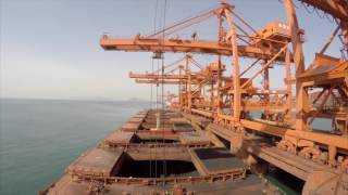 Video Time-lapse of a cape size bulk carriers Voyage. MP3, 3GP, MP4, WEBM, AVI, FLV Juli 2018