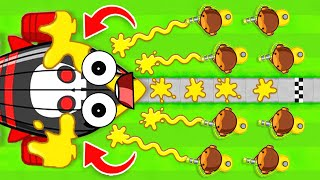 How to WIN with ONLY The GLUE TOWER (BLOONS TD 6)