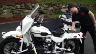 6. Ural Gear-Up, Custom White - Presentation by Ural of New England, Boxborough, MA
