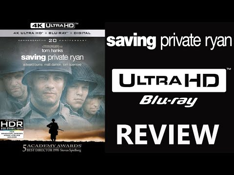 SAVING PRIVATE RYAN 4K Bluray Review | Dolby Atmos