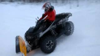 8. CAN AM OUTLANDER 650 Test drive
