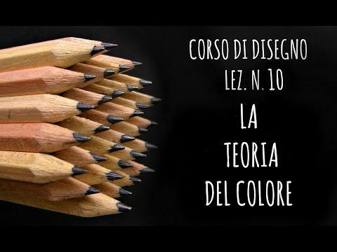 corso di disegno, lezione n.10: la teoria del colore