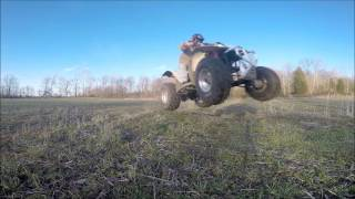 10. Just Having Fun On My Polaris Trail Blazer 250