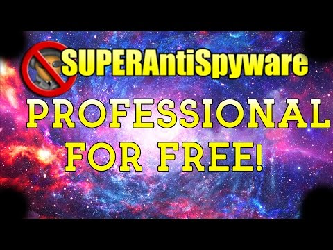 How to get SuperAntiSpyware professional for free 2017
