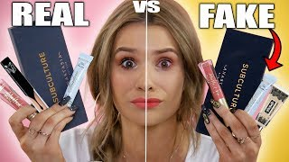 Video TESTING REAL vs FAKE Makeup! WORTH IT or TOSS IT?! MP3, 3GP, MP4, WEBM, AVI, FLV Juli 2018