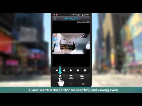 [IDIS Mobile] Search & Playback
