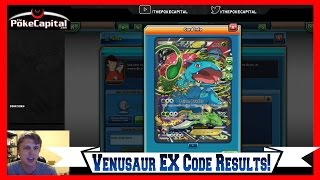 What Do You Get With the Pokemon Venusaur EX Red & Blue Collection PTCGO Code? by ThePokeCapital