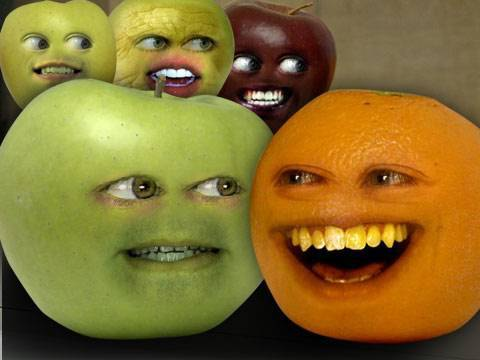 appl - FREE Version of Annoying Orange Kitchen Carnage: iTUNES: http://bit.ly/AOKitchenCarnageLite ANDROID: http://bit.ly/KCLiteGoogle Orange meets an apple that he is convinced is a mutant ninja!...
