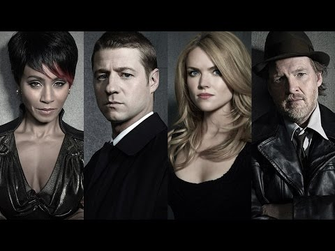 cast - Jada Pinkett Smith, Ben McKenzie, Donal Logue and Erin Richards, Gotham talk about exploring Batman's crime-noire roots.