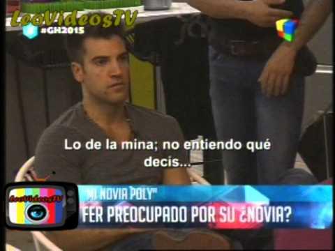 Fernando preocupado por su EX Novia GH 2015 #GH2015 #GranHermano