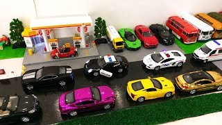 Car Parking for Kids - Car Cartoon for Children - Car Cartoon - Bus for Children - Cartoon Toys